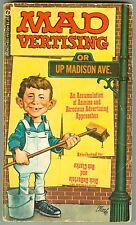Mad Vertising Paperback 1972 VG