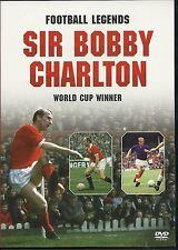 SIR BOBBY CHARLTON WORLD CUP WINNER FOOTBALL LEGENDS DVD