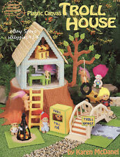"""TROLL HOUSE""~Plastic Canvas PATTERN BOOK ONLY ~OOP~SEE PICTURES"