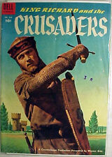1954 King Richard & Crusaders Comic Book