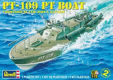Revell Monogram 310 WWII US Pt-109 Torpedo Boat plastic model kit 1/72