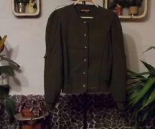 Damen Trachten Strick Janker Jacke grün Gr 46 von Geiger