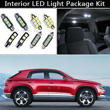 10PCS Canbus LED Interior Lights Package kit Fit 2009-up Volkswagen Tiguan J1