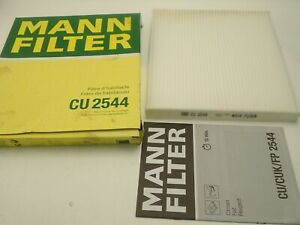 Mann Cabin Pollen Filter Boxer Relay 2006-On Fiat Ducato 2001-On CU2544