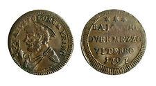 pcc1833_15) Viterbo Pio VI (1774-1799) Sampietrino 2 Baiocchi e 1/2 1797 gr 6,85