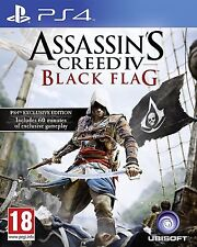 Assassins Creed IV Black Flag  (PS4) - Immaculate - FAST First Class Post FREE