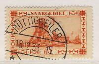 """SARRE / SAAR / SAARGEBIET - 1933 Yv.140/Mi.143 used """"HÜTTIGWEILER / * (SAAR) * """""""