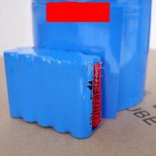 18650 Battery PVC Sleeve Φ65mm Heat Shrink Tube Wrap Blue Width 103MM  x 2M