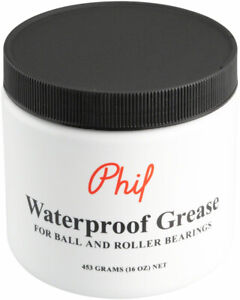 Phil Wood Waterproof Grease: 16oz Jar For Ball & Roller Bearings