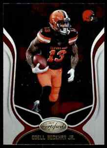 2019 PANINI CERTIFIED ODELL BECKHAM CLEVELAND BROWNS #19