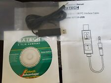 USB Interface Cable Extech 407001-USB