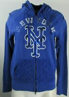 New York Mets Women's Blue Lace Pockets Touch Track Suit MLB