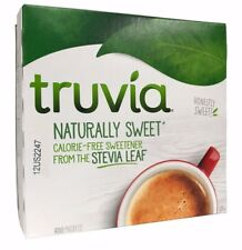 Truvia Calorie Free Naturally Sweetener From The Stevia Leaf 400 Packets 42.3 OZ
