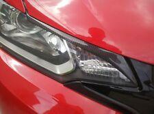 Carbon Fiber Headlight Eyebrows Eyelids for 2014-2016 Honda Jazz Fit 2015