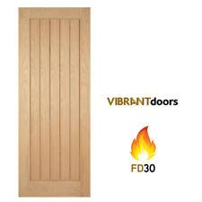 Mexicano Oak Internal Fire Door