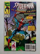 EL HOMBRE ARAÑA SPIDER-MAN #4 MARVEL COMICS MEXICAN EDITION BLACK CAT PIN-UP
