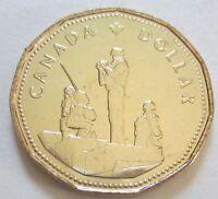 1995 Canada PeaceKeeping One Dollar Coin. (UNC. Loonie).