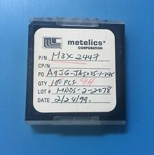M3X2447 METELICS CAPACITOR CHIP RF MICROWAVE 94/units