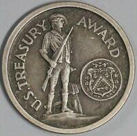 1945 Patriotic Service US Treasury Award Silver Medal Unawarded (19100804R)
