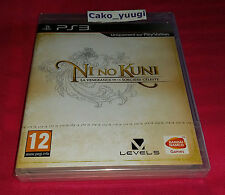 NI NO KUNI 1ERE EDITION SONY PS3 NEUF SOUS BLISTER VERSION 100% FRANCAISE