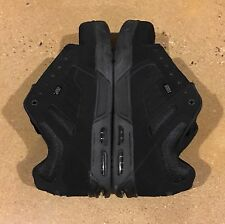 DVS Enduro Heir Size 12 US Black Nubuck Militia Transom Havoc BMX DC Skate Shoes