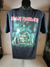 Vintage 2007/2008 Iron Maiden Somewhere Back In Time World Tour T-Shirt Large