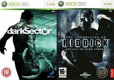 dark sector & chronicle of riddick assault dark athena + escape from butcher bay