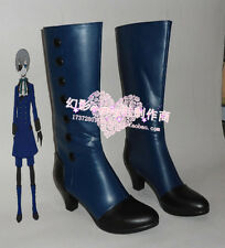 Black Butler Ciel Phantomhive cosplay shoes boots Custom-Made 272 hot