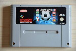SNES - Champions World Class Soccer für Super Nintendo