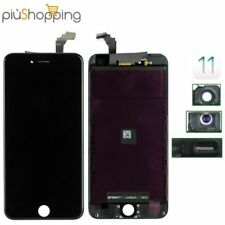 TOUCH SCREEN LCD DISPLAY RETINA PER APPLE IPHONE 6 VETRO SCHERMO NERO + FRAME