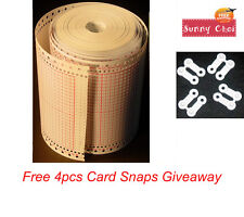 Blank Punch Card Roll For Brother Singer Knitting Machine Punchcard KH868 SK280
