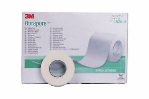 1 ROLL 3M Durapore Tape 1.25cm SemiPermanent Individual EyelashExtension Medical