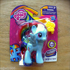 "My Little Pony RAINBOW DASH Friendship is Magic RAINBOW POWER Hasbro 3"" MLP New"