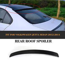 Jetta Rear Roof Spoiler Wing Carbon Fiber Fit For VW Jetta 6 VI MK6 2012-2014