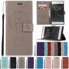For Sony Xperia XA1 L2 XA2 XZ3 Magnetic Flip Stand Cover Wallet PU Leather Case