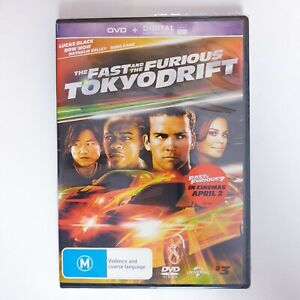 The Fast and The Furious Tokyo Drift Movie DVD Region 4 AUS Free Postage