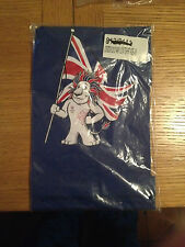Official London 2012 Lion adidas Blue T-shirts 3-4 Yrs 100 Cotton