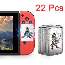 Complete 22 Pieces Zelda Breath of the Wild Amiibo NFC Cards - BOTW Switch WiiU