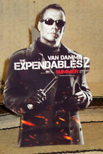 Expendables 2 -Jean-Claude Van Damme Color Figure Tabletop Display Standee 10.5""