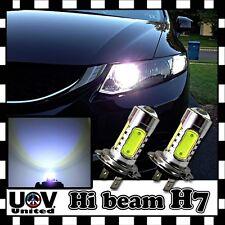 High Beam 2 x H7 6000K COB LED Light Bulbs CREE Hyper White Headlight Power