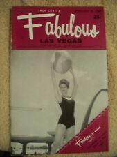 Fabulous Las Vegas Magazine Sid Caesar Lainie Kazan Jo Ellen Fisher 2/25/1967