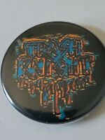 """TRASH KNIGHT"" BUTTON pin pinback 1 1/2"" badge NEW"