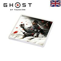 Ghost Of Tsushima PS4 Game Style Plastic Cup Coaster Jin Sakai Style Beer Mat