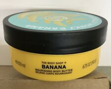 The Body Shop Banana Body Butter 6.75 oz./200ML. Limited Edition-NEW