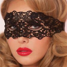 Adult Black Lace Eye Mask Funplay Roleplay Swinger Eyes Wide Shut