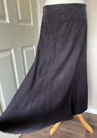 Grey Pincord Maxi Shirt Uk 12 Chocolate Pin Cord Cherokee