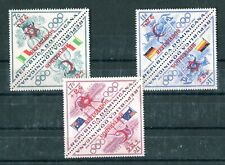 DOMINICANA 1958 Olympics 6v in pairs MINT (A-1695)