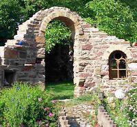 0,5 qm Trockenmauersteine Natursteine Buntsandsteine Sandsteinmauer Garten Ruine