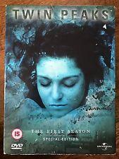 Kyle MacLachlan TWIN PEAKS: Temporada 1 ~ David Lynch Culto TV Series GB DVD