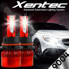 XENTEC LED Headlight Conversion kit 9004 HB1 6000K for Infiniti I30 1996-1999